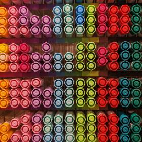 Array of markers